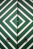 Diamond shape pattern of a green estonian door (CloudMineAmsterdam) Tags: door white house color colour green out europe closed paint tallinn estonia pattern traditional property diamondshape