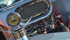 Hotrod (Chad Horwedel) Tags: classic car silver illinois hotrod custom roadster downersgrove cozzicornercruisenights