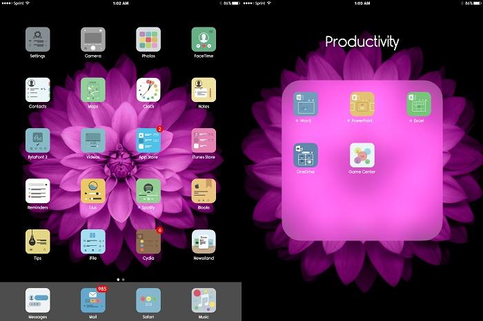 Theme សម្រាប់ iPad Mini មួយបែបថ្មី មិនសរសើរមិនបាន