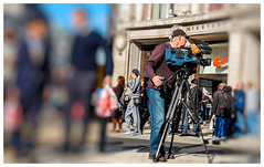 Light,Camera and some action.... (kevingrieve610) Tags: street blur london focus oxford selective xm1 fujixm1 xf27mm