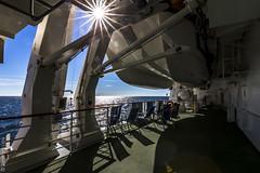 Sonne, Schiff und Meer (ZaglFoto.de) Tags: meer wasser sonne nordsee schiff kreuzfahrt