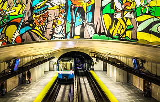 Montreal Metro @ Papineau Station