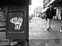 bklyn (t-ninja) Tags: street york nyc blackandwhite bw usa white streetart ny newyork black brooklyn t photo blackwhite sticker stickerart ninja tag stickers picture pic bklyn grayscale tee flick bk nuevayork tagger nja slaptag ninjah slaptagging stickerbombing ninjamask stickerartists tnj tninja tnja narcoze teeninja tninjah t忍者 tninjaxnarcoze
