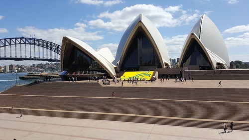 Wallabies Tribute at the Sydney Opera House