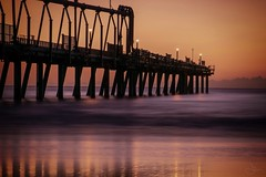 Go placidly.... (jenni 101) Tags: longexposure water sunrise pier goldcoast thespit seqld d3300