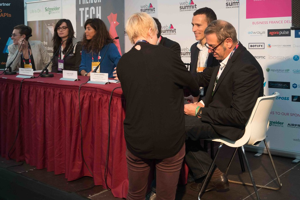 TODAY AT THE WEB SUMMIT THERE WAS A PRESS CONFERENCE HOSTED BY AXELLE LEMAIRE [FRENCH MINISTER RESPONSIBLE FOR DIGITAL AFFAIRS]-109905