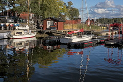 Saltsjöbaden (PhotoSíntesis) Tags: sea sailboat landscape sweden sverige suede segelbåt velero saltsjöbaden