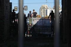 Sbarrati (orlando_annachiara) Tags: bologna manifestazione sbarre prospettive scontri