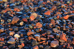 Cold, Wet, & Colorful Rocks (bkays1381) Tags: minnesota rocks minn lakesuperior lutsen lutsenlodge
