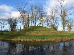 Prospect mound, looking like something from Middle Earth (dark_dave25) Tags: new november cold sunny national trust sloes 2015 lyveden bield