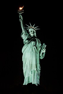 Floating Lady Liberty- Thank you people of France!