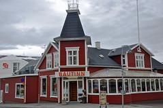 colorful restaurant in Akureyri