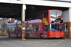 Stagecoach Merseyside & South Lancashire City Sightseeing 17479 LX51FLR (Will Swain) Tags: city uk travel england west bus london buses yard december cheshire britain garage north transport sightseeing shed chester vehicles vehicle depot 5th 2015 17479 lx51flr