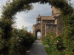 2017-01-06_10-31-30 (marinarafaelian) Tags: armenianchurch flowers yerevan nature urban