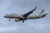 TS-IMW - 2014 build Airbus A320-214, on approach to Runway 27R at Heathrow at dusk (egcc) Tags: 6338 a320 a320214 airbus egll farhadhachet heathrow lhr lightroom london sharklets tar tsimw tu tunisair