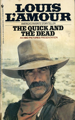 Novel-The-Quick-And-The-Dead-by-Louis-L'Amour (Count_Strad) Tags: novel book pages read reading pulp louislamour western oldwest gunfight outlaw indian cowboy