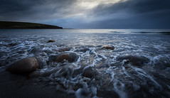 Rushed tides (Premysl Fojtu) Tags: dramatic landscape seascape dingieshowe orkney scotland water moody cloudy canon dslr eos 5dmkii fullframe ef1740 wideangle pov pointofview