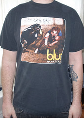 #2009A Blur - Parklife 1994 US Tour (Minor Thread) Tags: black minorthread tshirtwars tshirt shirt vintage rock concert tour merch blur parklife us usa 1994 94 damonalbarn grahamcoxon