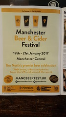 Tomorrow! (deltrems) Tags: manchester central station centre gmex beer real ale festival camra