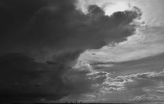 Fly the friendly skies (maytag97) Tags: randomstuff mayag97 plane airliner contrast shadow threatening storm thunderhead