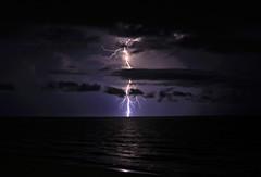 Lightning Blues (lightonthewater) Tags: lightning lightonthewater storm seagrovebeach waves gulfofmexico ocean thunderstorm beach floridathunderstorm florida clouds