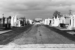 AA015 (Terry Christian Photo) Tags: nikon nikonf2 nikonf2photomic photomic kodak trix trix400 hc110 neworleans stlouiscemetery3 cemetery grave vault tomb ruin stone marble