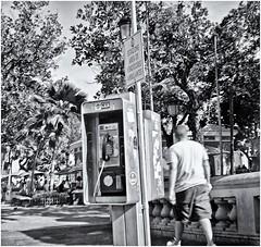 El Pasado Telefonico (Samy Collazo) Tags: kodakbrowniehawkeye1951 kodaktrix400 kodakd7611 lightroom3 silverefexpro2 epsonperfectionv500scanner sanjuan oldsanjuan viejosanjuan puertorico