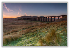 Ribblehead Viaduct - North Yorkshire (Steven Peachey) Tags: canon sunrise landscape sky clouds viaduct moors morning 2017 northyorkshire ribblheadviaduct canon6d ef1740mmf4l stevenpeachey lightroom leefilters lee09gnd