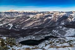 Snow memories (Alessandro Iaquinta) Tags: mountain nature landscape colours italy canon trekking snow adventure top picoftheday 5d fullframe italia appennino lake ghelfispedizioni