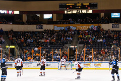 "Missouri Mavericks vs. Wichita Thunder, January 6, 2017, Silverstein Eye Centers Arena, Independence, Missouri.  Photo: John Howe / Howe Creative Photography • <a style=""font-size:0.8em;"" href=""http://www.flickr.com/photos/134016632@N02/32080945312/"" target=""_blank"">View on Flickr</a>"