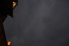 Dreams (Rob₊Lee) Tags: dreams sky skylantern shifen pingxi newtaipeicity 放天灯 十分老街 大人の宿題 dusk dark adulthomework pingxiskylantern wishes resolutions lanterns うぶ countryside town
