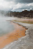 "Waiotapu (Māori for ""sacred waters"") (hello_mrbaker) Tags: nz new zealand d5300 nikon champagne pools waiotapu sacred water spa hot steam co2 fog mist smoke orange leading lines colour geothermal volcanic sigma 1020mm 20mm up brown green nature jungle ancient clouds"