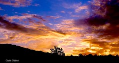 (clauspap) Tags: colours nuvole clouds cielo tramonto