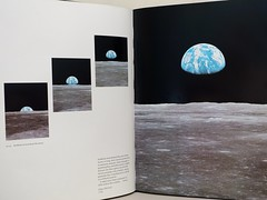 """""""Earthrise"""" from the book """"The Home Planet"""" edited by Kevin W. Kelley for the Association of Space Explorers. Addison-Wesley Publishing Co., (1988) (lhboudreau) Tags: book books hardcover hardcovers hardcoverbook hardcoverbooks bookart spacephotography spacephoto spacephotos outerspace spaceflight homeplanet thehomeplanet kevinkelley kevinwkelley spaceexplorers associationofspaceexplorers ase addisonwesley addisonwesleypublishingco 1988 earth earthfromspace planetearth earthrise bigbluemarble text"""