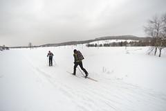 Unser Kumpel der Berg (all martn) Tags: schnee snow winter langlauf langlaufen cross country skiing ski hohe tour erzgebirge osterzgebirge krusne hory ore mountains