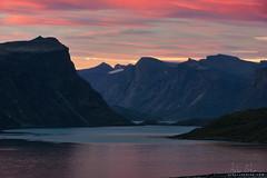 Within Reach (arturstanisz1) Tags: canadianarctic canada arturstanisz arctic auyuittug pangnirtung mountains sunset baffinisland