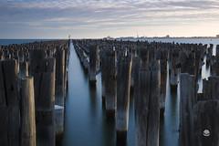 Princes Pier (peterriordan70) Tags: longexposure melbourne ndfilter night sunset