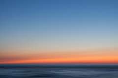 evening mood (Sabinche) Tags: outdoor sky sea northsea norderney sunset blur minimalism olympus sabinche