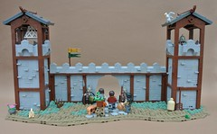 9 Kingdoms - The Gate (-Balbo-) Tags: lego moc brandküste rpg balbo rohan creation bauwerk gate nine kingdoms 9 neun reiche imperiumdersteine