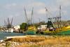 Shrimp trawlers (Lindell Dillon) Tags: shrimtrawlers shrimpboats fishermen shrimpers texas portisabel harbor lindelldillon