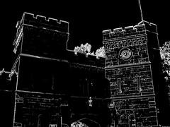 Livadia Palace (Viacheslav Pylypenko) Tags: livadiapalace blackandwhite ancient architecture crimea terrible mystical building palace stone