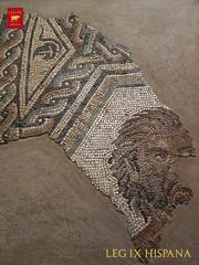 SATIRO (LEG IX HISPANA) Tags: zaragoza roma caesar museo arqueologico augusta caesaraugusta romano hispania romana citerior tarraconense leg legion novena ix hispana mosaico domus villae casa