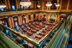 Political Perspective (matthewkaz) Tags: michiganhouseofrepresentatives houseofrepresentatives housechamber room michiganstatecapitol capitol government stategovernment architecture lansing capital inghamcounty michigan 2017
