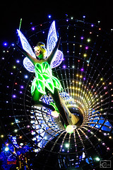 Paint the Night 6/3/15 (sonicdinglehopper) Tags: disneyland tinkerbell peterpan disney parade ptn paintthenight