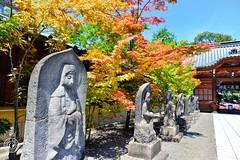 AutumnComing. © Glenn E Waters. Japan 2015. (Glenn Waters ぐれんin Japan.) Tags: statue japan nikon shrine aomori hirosaki jinja d800 弘前 ニコン ぐれん glennwaters ウォータースぐれん