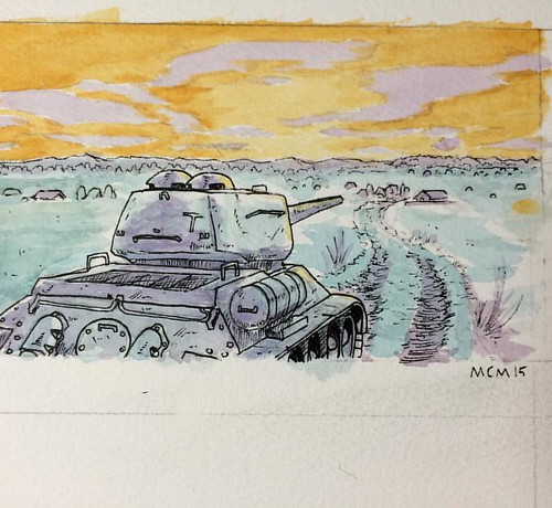 3rd quick attempt at watercolors learning by staring at manga 3rd quick attempt at watercolors learning by staring at manga t34 tank publicscrutiny Choice Image