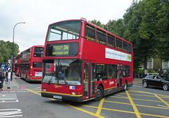 GAL PVL152 - X552EGK - NX NEW CROSS BUS GARAGE - WED 9TH SEPT 2015 (Bexleybus) Tags: new bus london volvo gate cross garage president route 36 tfl nx goahead plaxton x552egk pvl152
