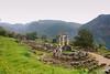 Templo de Atenea (Óscar Cuadrado) Tags: temple honeymoon delphi greece grecia athena templo lunademiel delfos peloponeso peloponese atenea