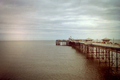 Llandudno Pier (Lee Johnson UK) Tags: sea seascape film seaside konica filmphotography zup