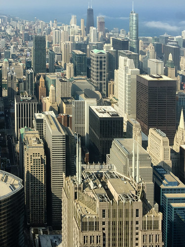 Willis Tower observation deck view